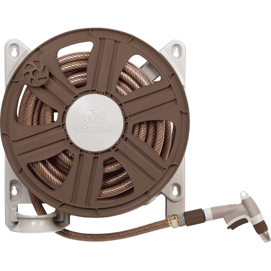 Shop Ames Plastic 100 ft Wall Mount Hose Reel at Lowescom