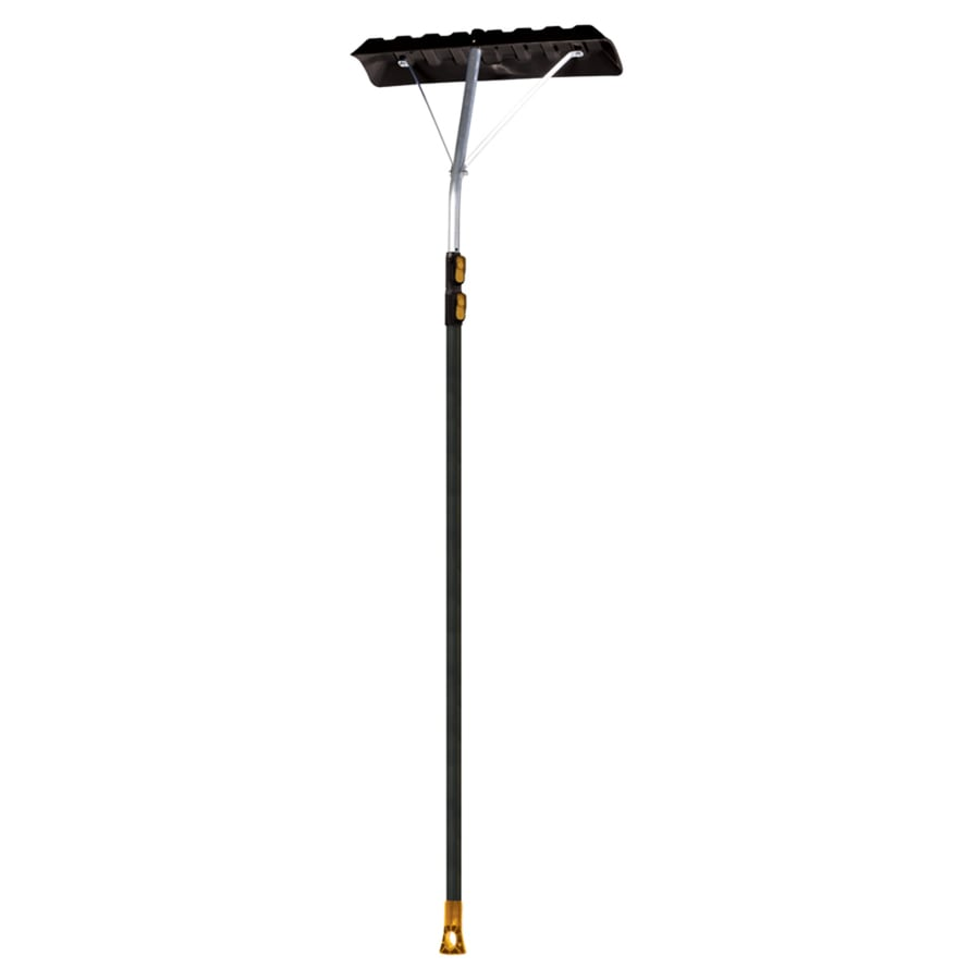True Temper 204 In Aluminum Telescoping Handle Roof Rake