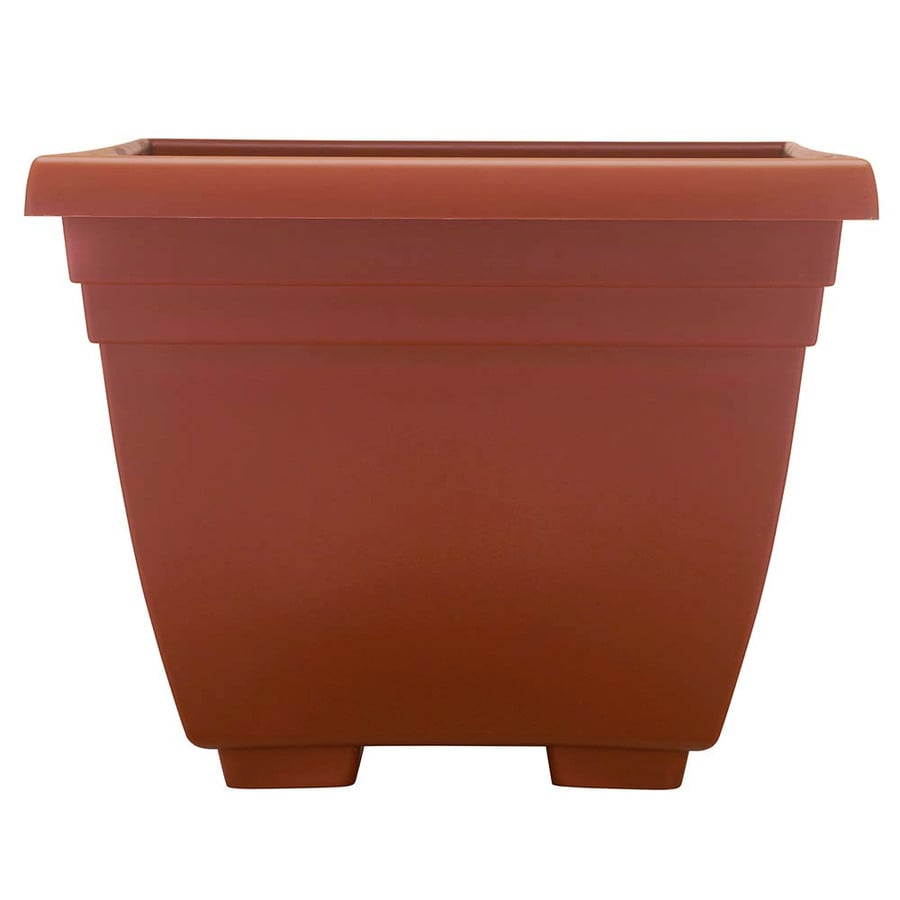 Garden Treasures 17.75-in x 17.75-in Planter