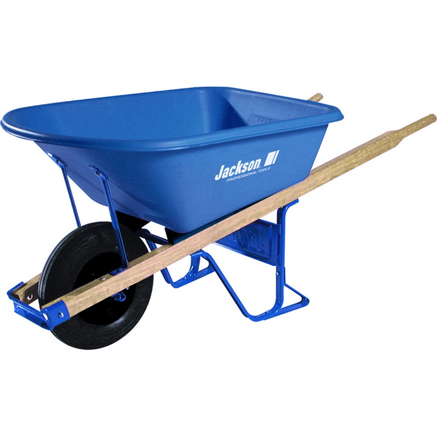 JACKSON 5.75-cu ft Thermoform Wheelbarrow