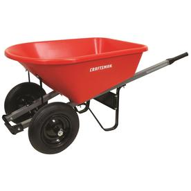 CRAFTSMAN 6-cu ft Poly Wheelbarrow