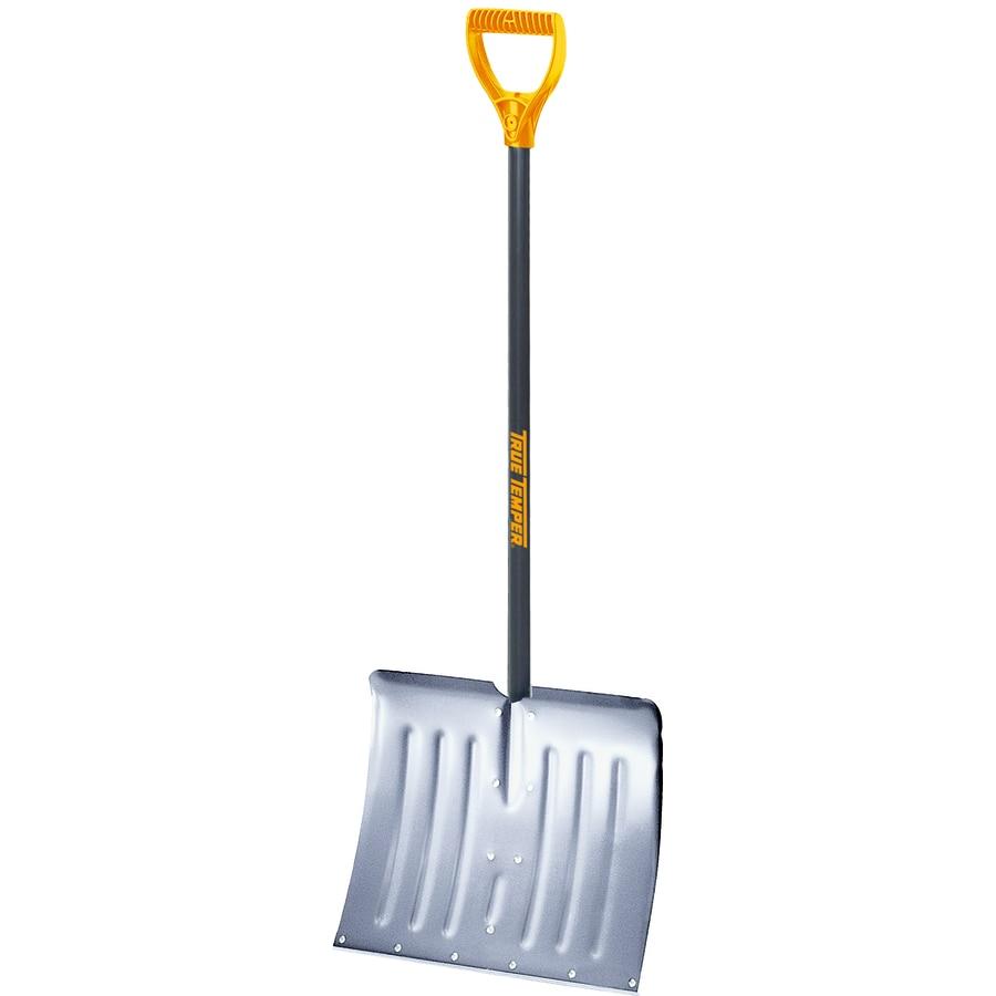 Ames True Temper 18-in Aluminum Snow Shovel with 36-in Steel Handle
