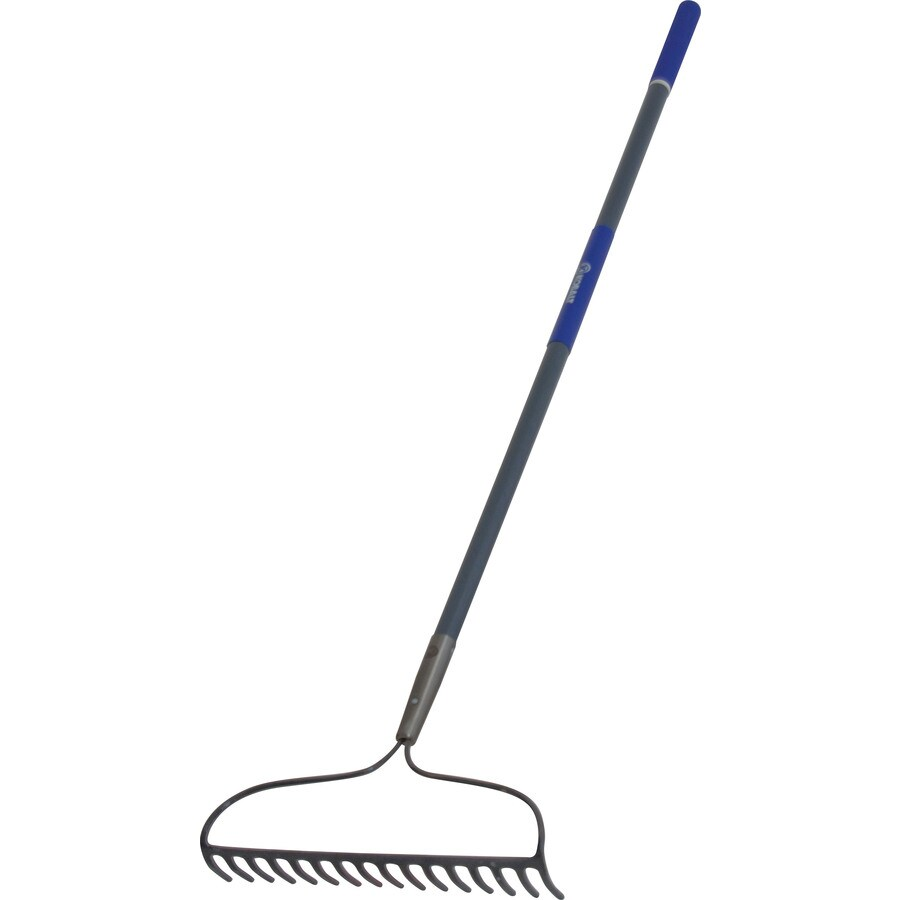 Kobalt 55.25-in L Fiberglass-Handle Forged Steel Garden Rake
