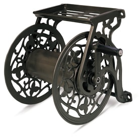 NeverLeak Steel 125-ft Wall-Mount Hose Reel  sc 1 st  Loweu0027s : wall mount hose reel - www.happyfamilyinstitute.com