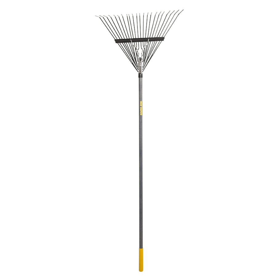 True Temper 22-in Lawn and Leaf Rake