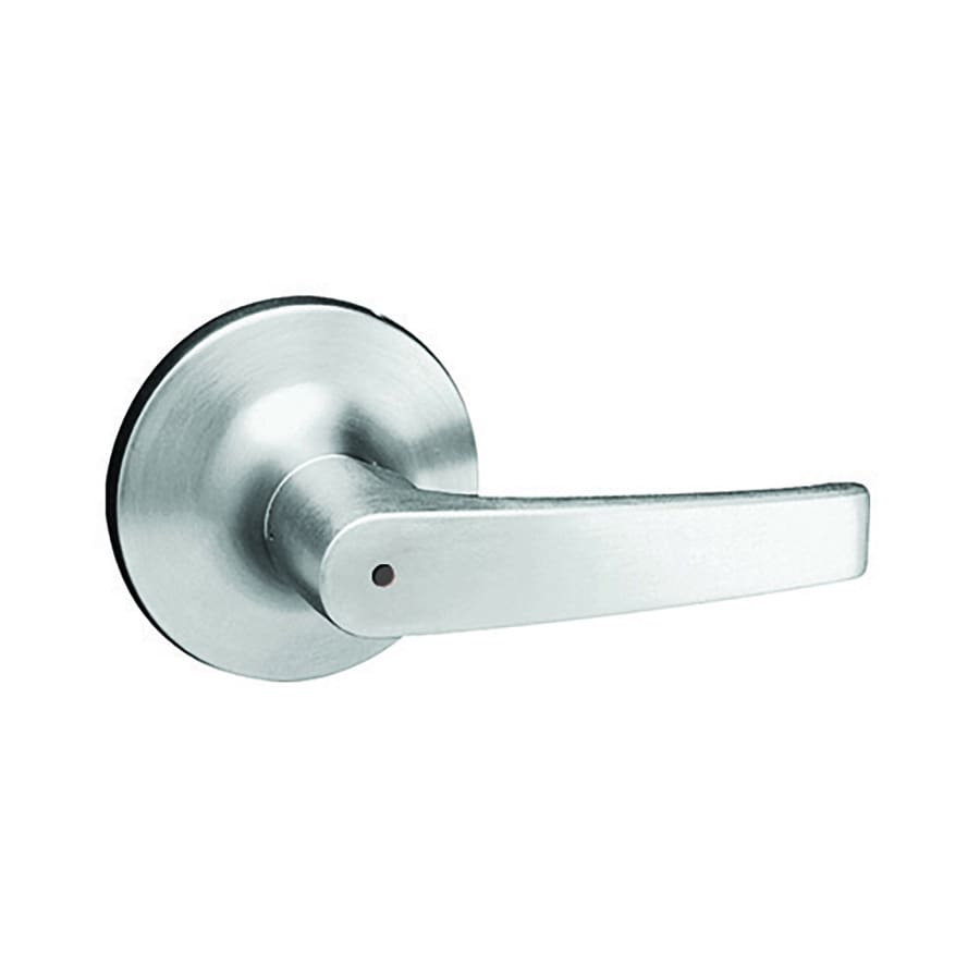 Yale Security 5300LN Monroe Satin Chrome Push-Button Lock Privacy Door Lever