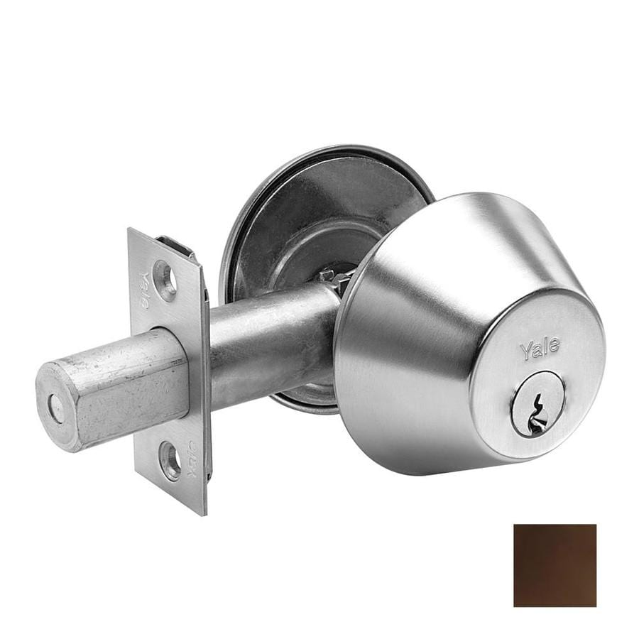 Yale Security D100 Oil-Rubbed Bronze Single-Cylinder Deadbolt