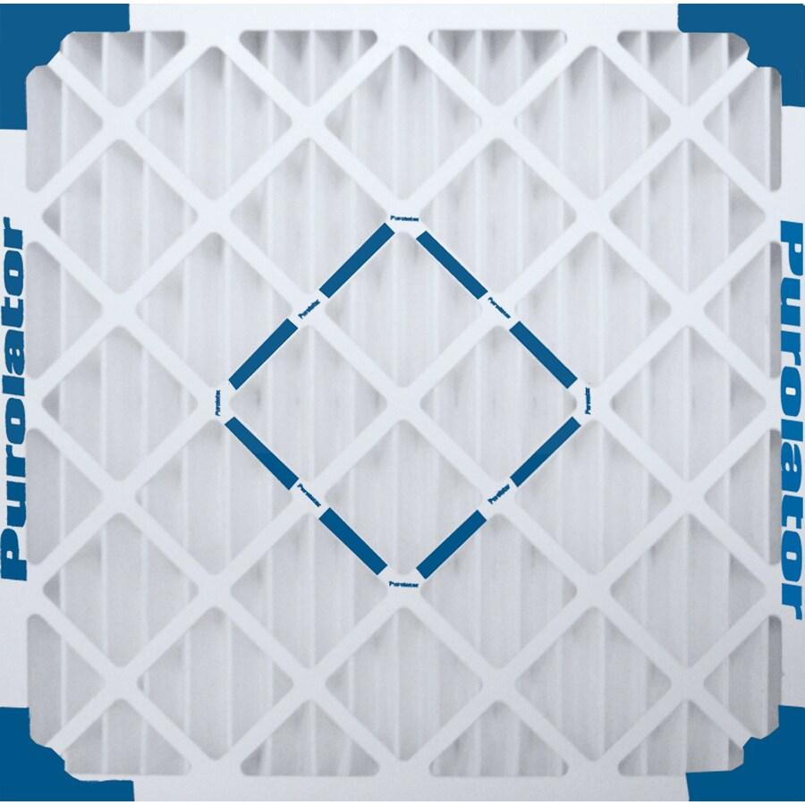 Purolator Hi-E 40 Pleated Air Filter (Common: 20-in x 22-in x 1-in)
