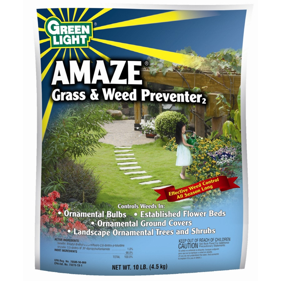 Green Light 10 Lb. Amaze Grass and Weed Preventer