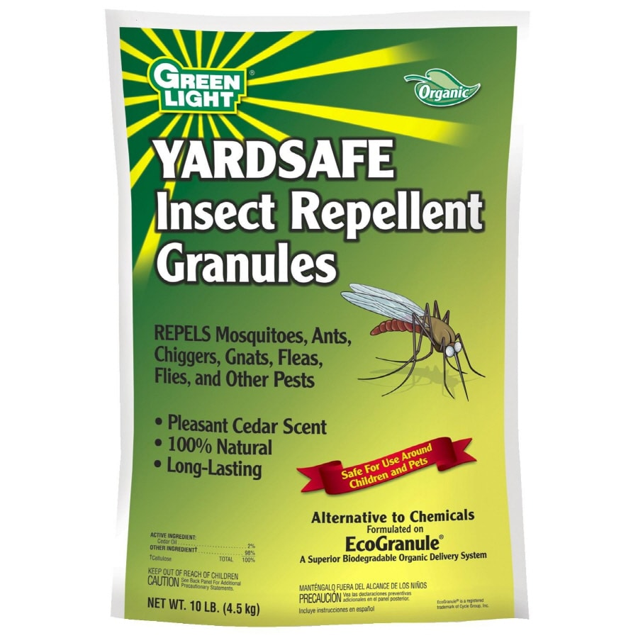 Shop green light 10 lbs yardsafe insect repellent for Mosquito pellets