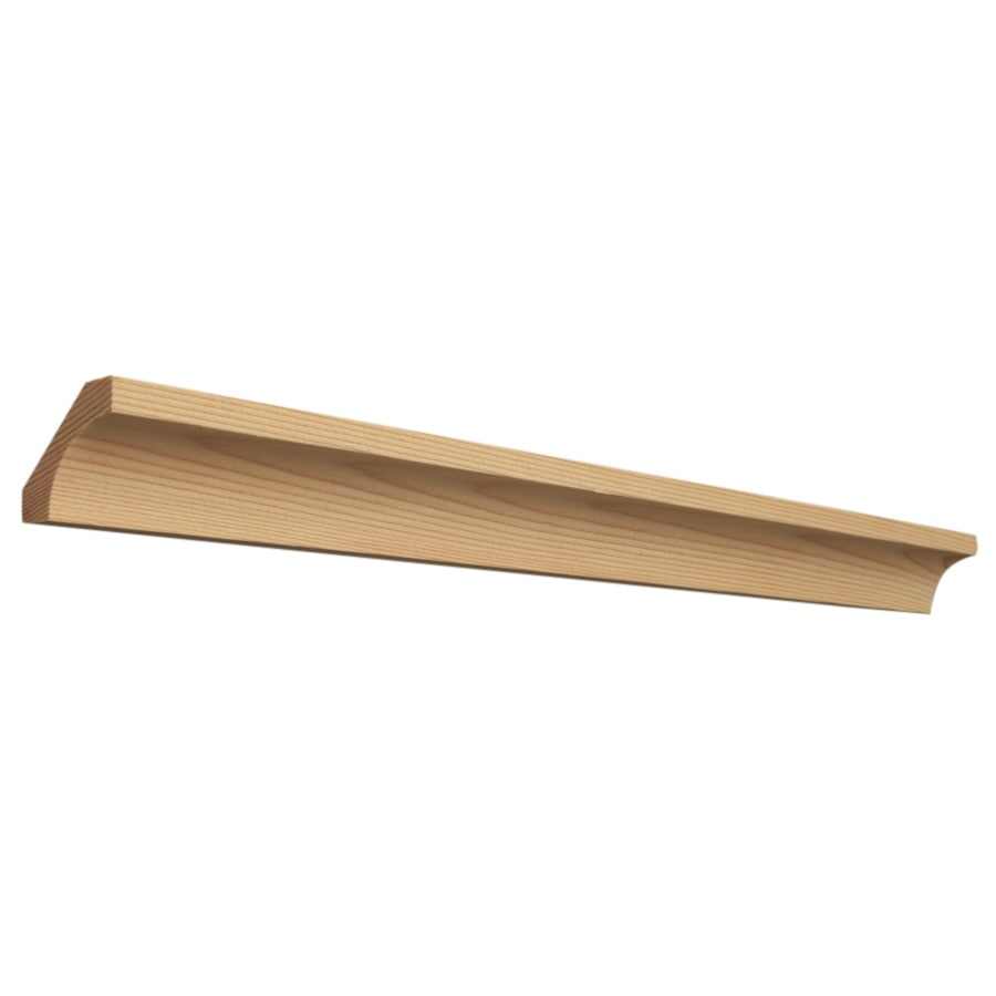 1.5-in x 144-in Wood Tapered Cove Moulding