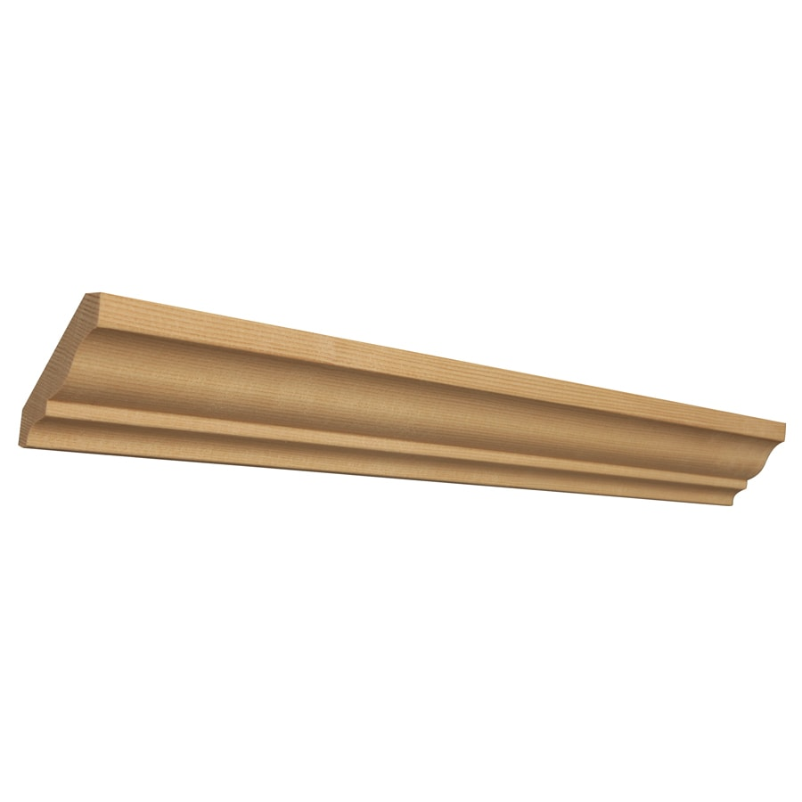 EverTrue 2.25-in x 12-ft Hemlock Wood Crown Moulding