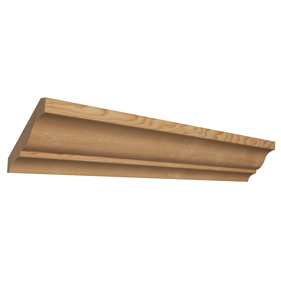 3.625-in x 8-ft Hemlock Crown Moulding