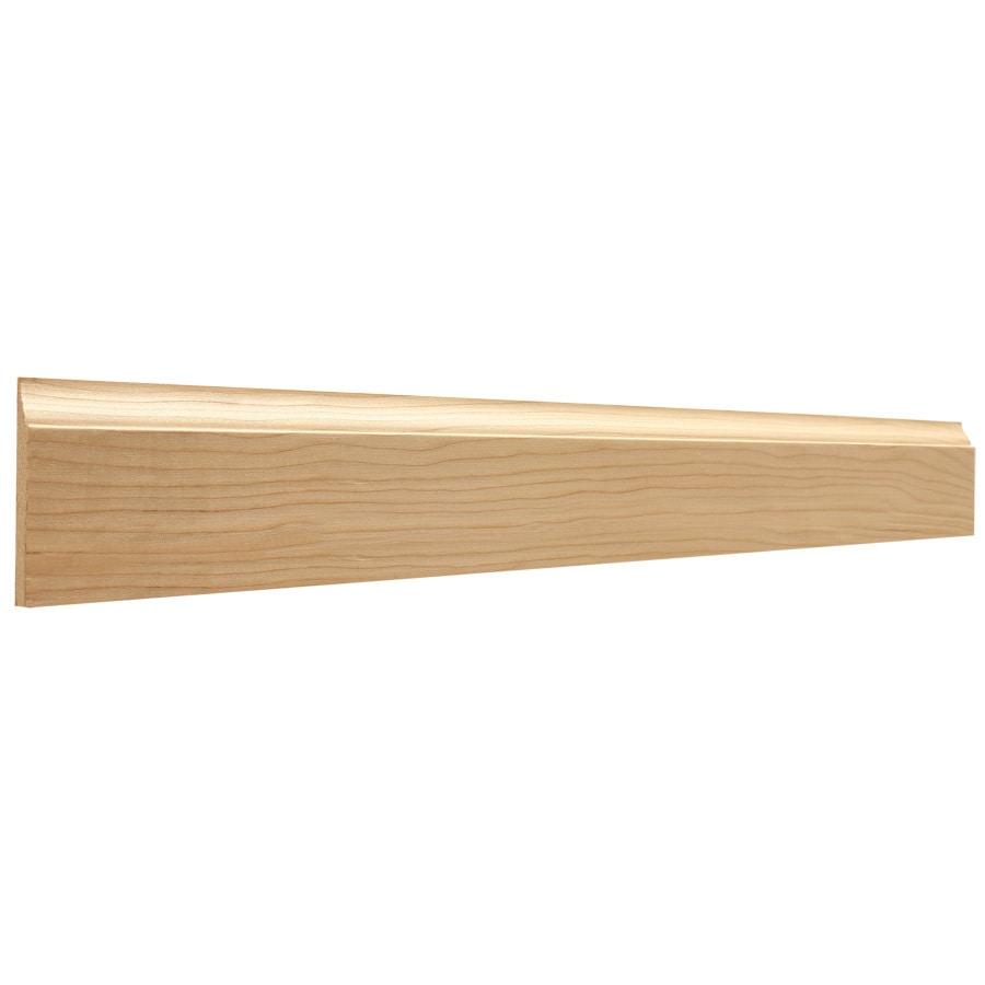 2.25-in x 8-ft Interior Hemlock Baseboard Moulding