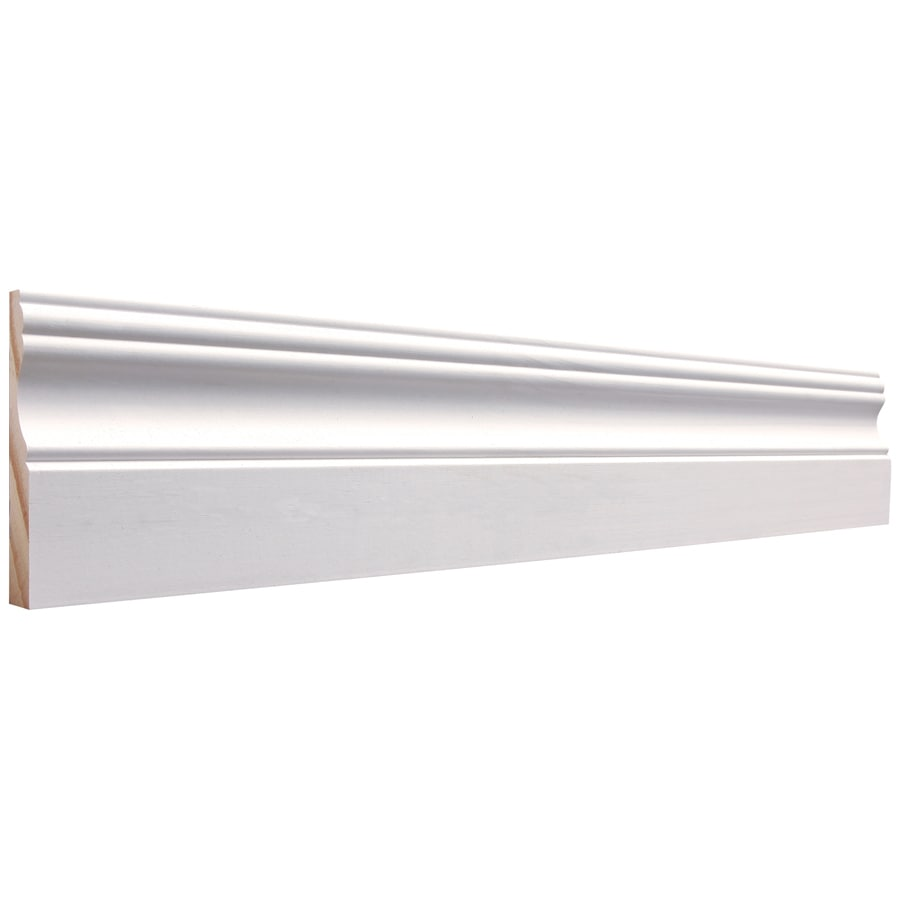 3.25-in x 12-ft Interior Pine Baseboard