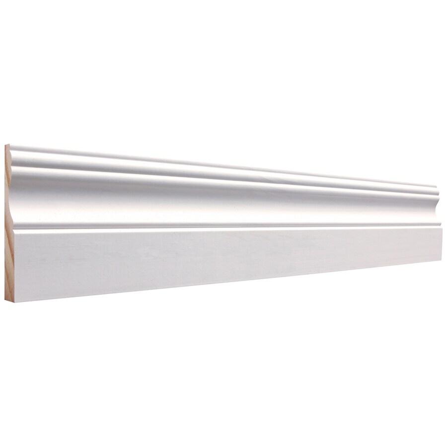 3.25-in x 12-ft Interior Pine Primed Baseboard Moulding