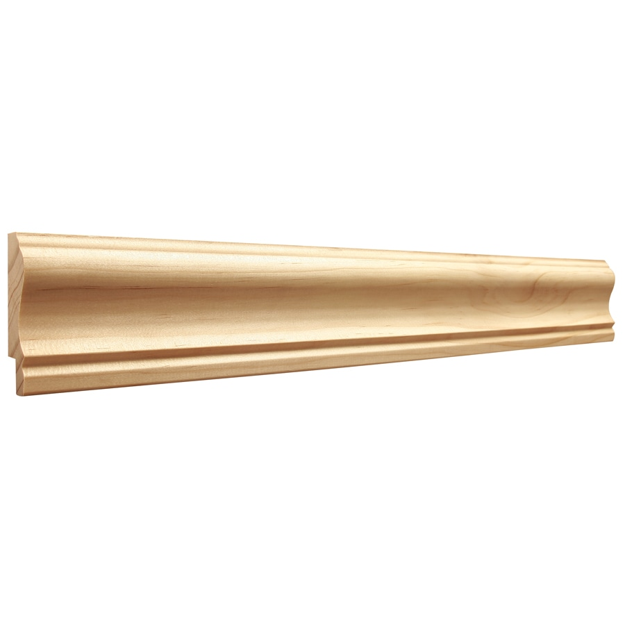 2.5-in X 8-ft Pine Chair Rail Moulding At Lowes.com