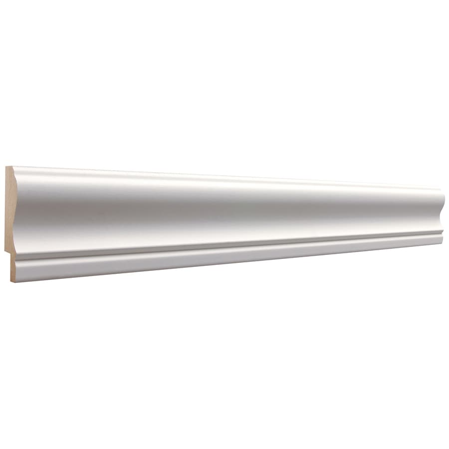2.5-in X 8-ft Primed MDF Chair Rail Moulding At Lowes.com