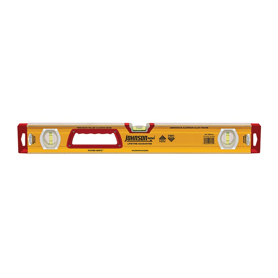 Johnson Level 24-in Box Beam Level Standard Level
