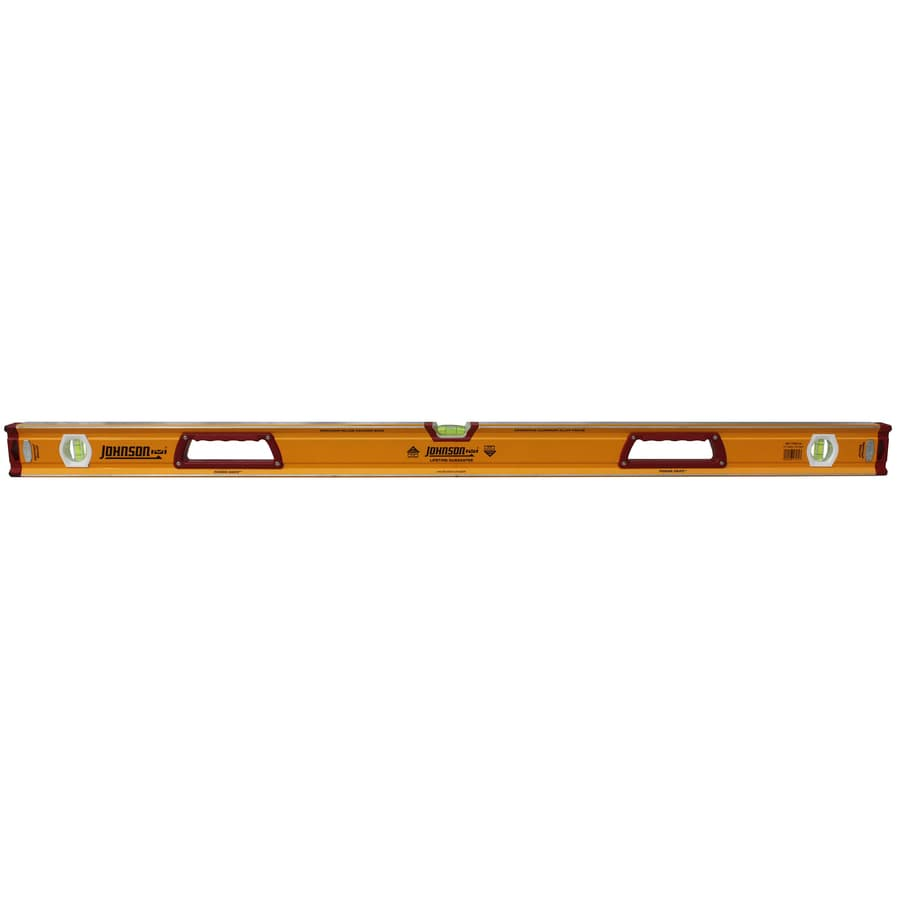 Johnson Level 48-in Box Beam Standard Level