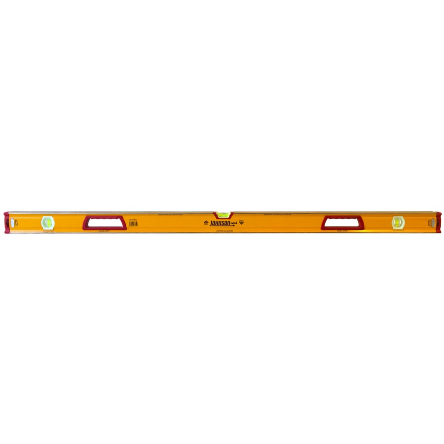 Johnson Level 59-in Box Beam Standard Level