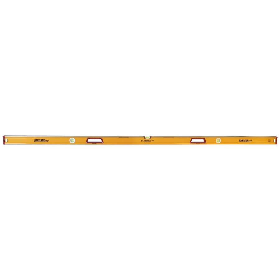 Johnson Level 96-in Box Beam Level Standard Level