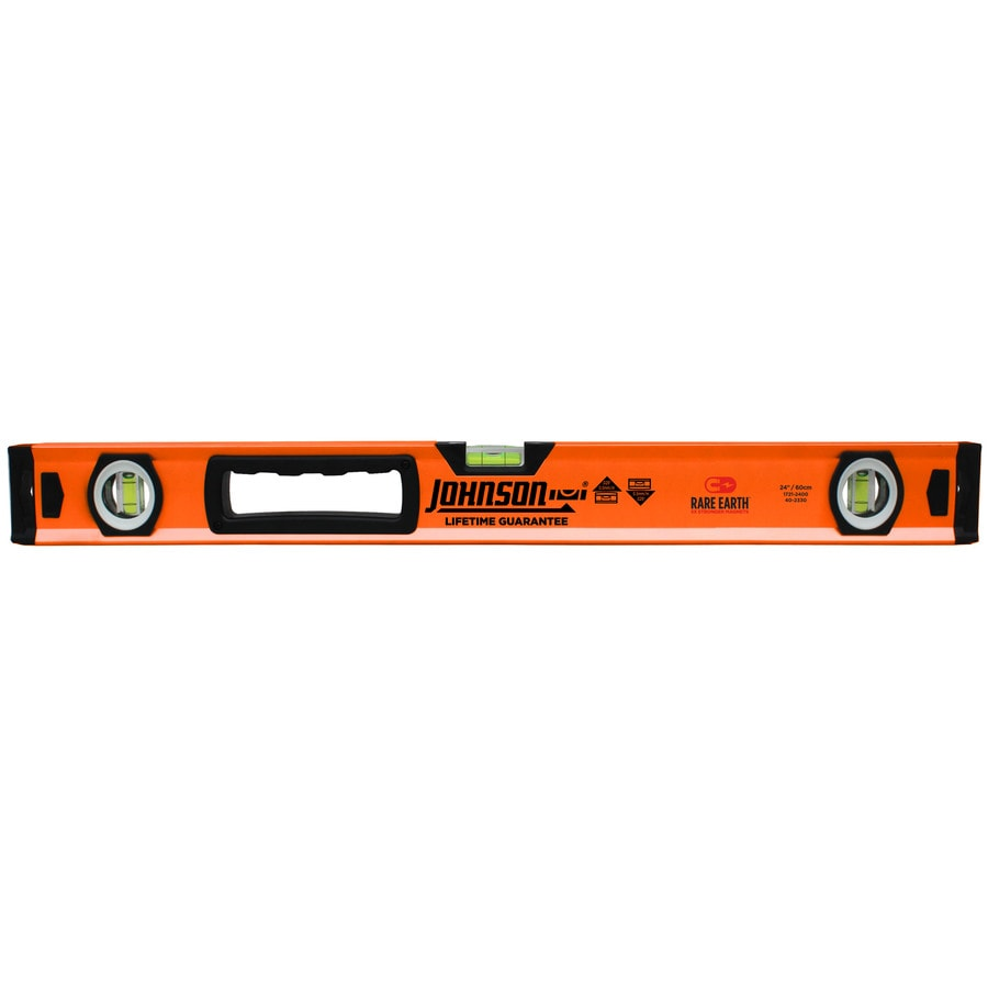 Johnson Level 24-in Magnetic Box Beam Standard Level