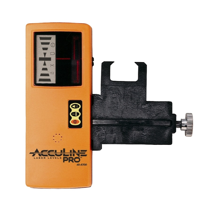 AccuLine Pro One-Sided Laser Detector with Clamp