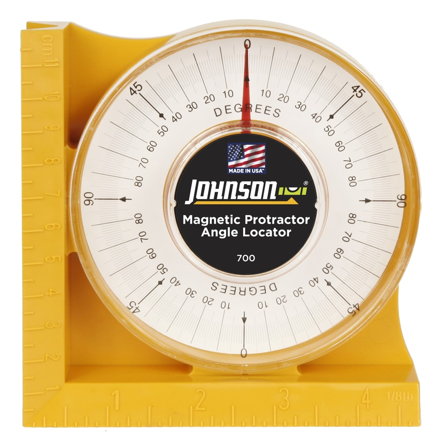 Johnson Level Magnetic Protractor/Angle Locator
