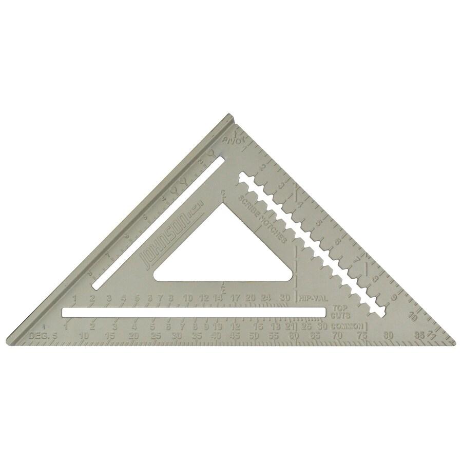 Johnson Level Professional Aluminum Rafter Square