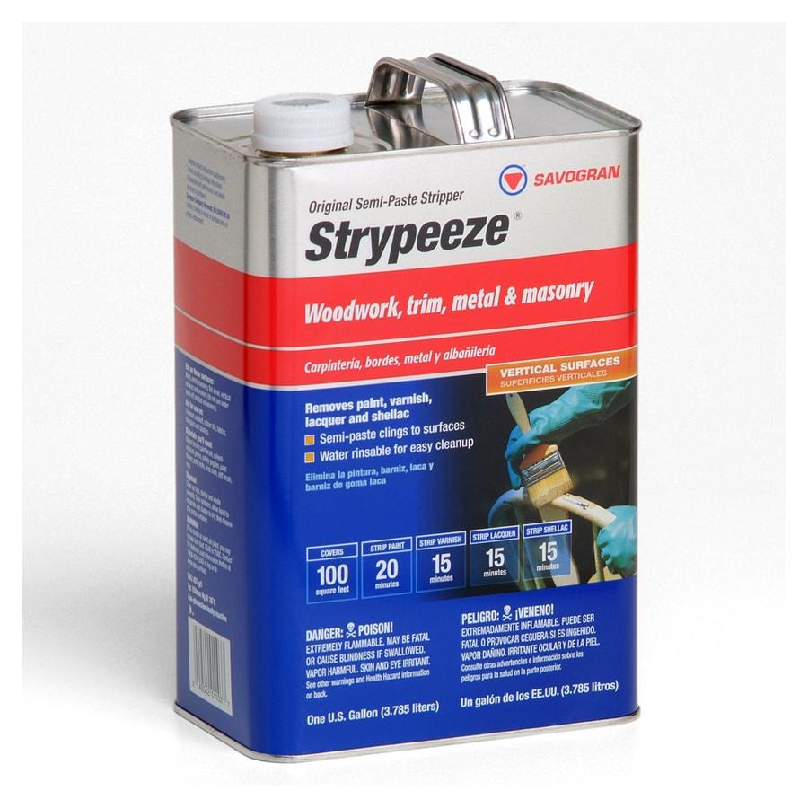 STRYPEEZE 1-Gallon Semi-Paste Multi-Surface Paint Remover