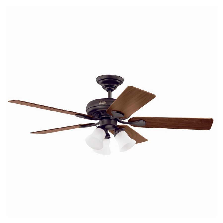 "Hunter 52 Chatham New Bronze Ceiling Fan With Light At: Hunter 52"" Summer Breeze Plus New Bronze Ceiling Fan At"