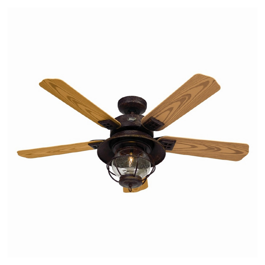 Shop Hunter 52 Northshore Rustic Bronze Ceiling Fan At