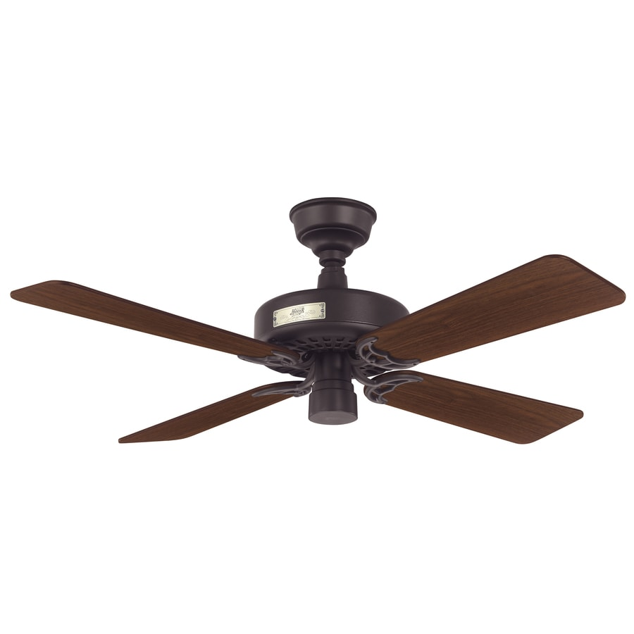 Prestige by Hunter Classic Original 42-in New Bronze Downrod Mount Ceiling Fan