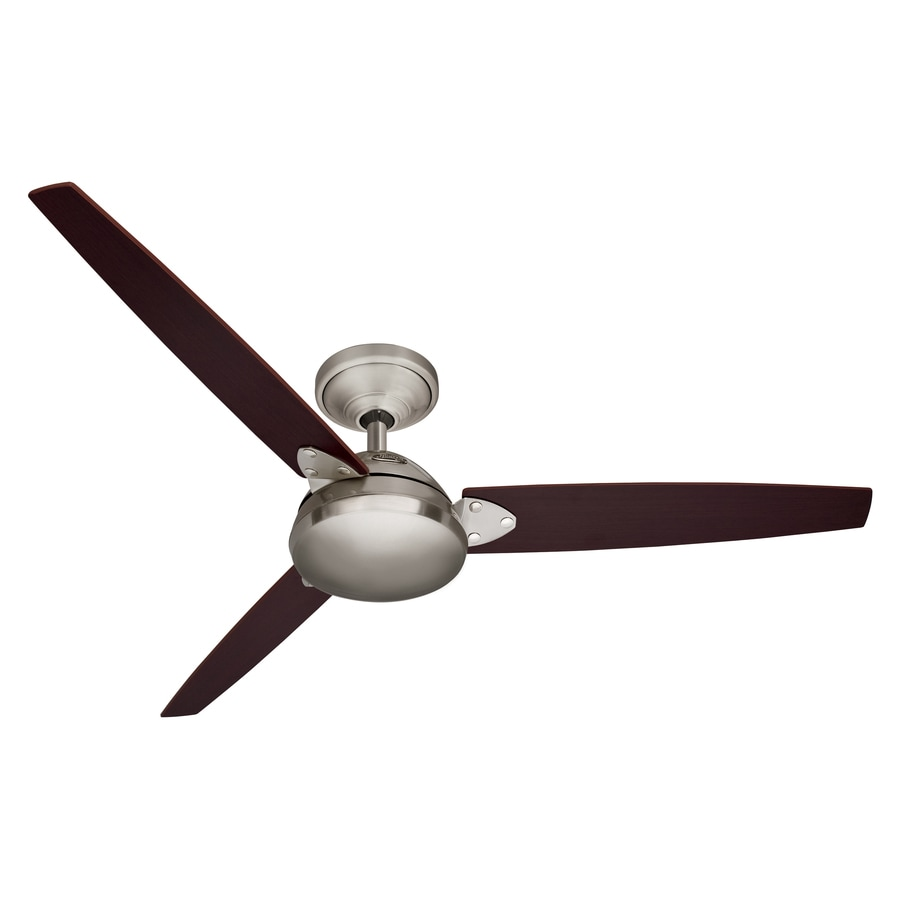 Hunter 52 Ventura Brushed Nickel Indoor Ceiling Fan Energy Star
