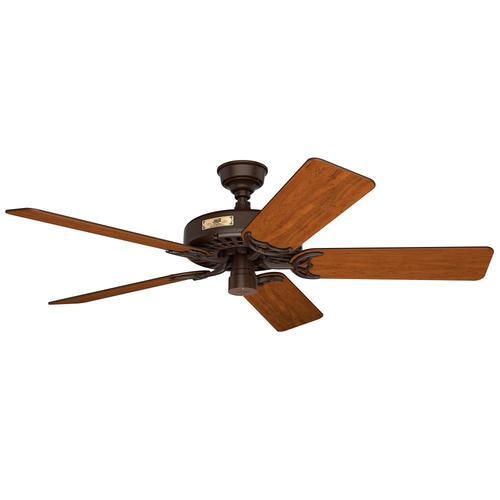 Brown Indoor Outdoor Ceiling Fan
