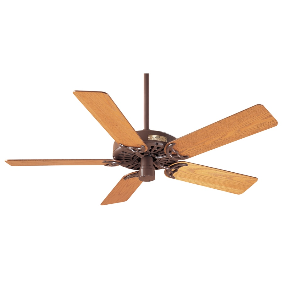 Prestige by Hunter Original 52-in Chestnut Brown Downrod Mount Indoor Ceiling Fan ENERGY STAR