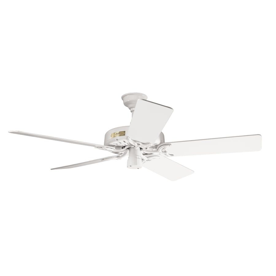 Prestige by Hunter Original 52-in White Downrod Mount Ceiling Fan ENERGY STAR