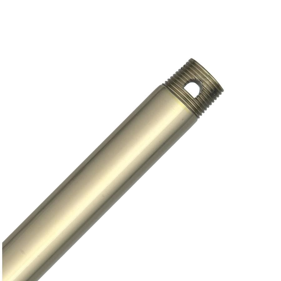 Hunter 36-in Bright Brass Steel Ceiling Fan Downrod