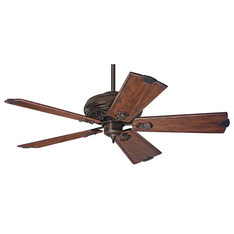 Prestige by Hunter Fellini 60-in Cocoa Downrod Mount Ceiling Fan with Remote