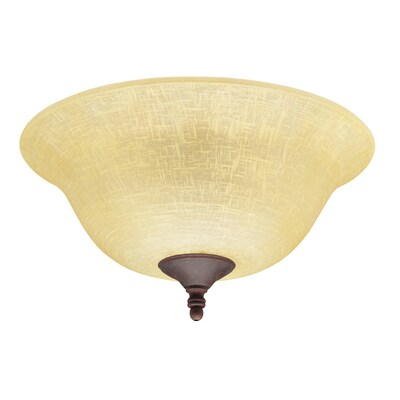 Ceiling Fan Light Kit With Amber Linen