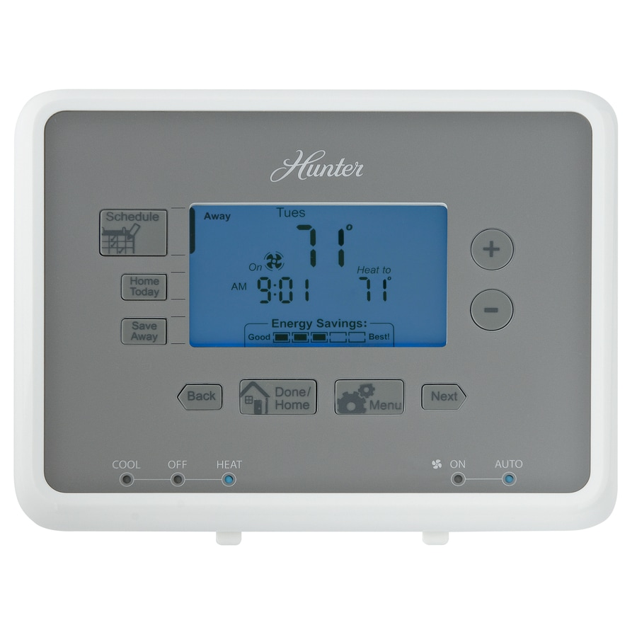 Hunter 7-Day Programmable Thermostat