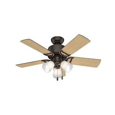 Satin Bronze Led Indoor Ceiling Fan