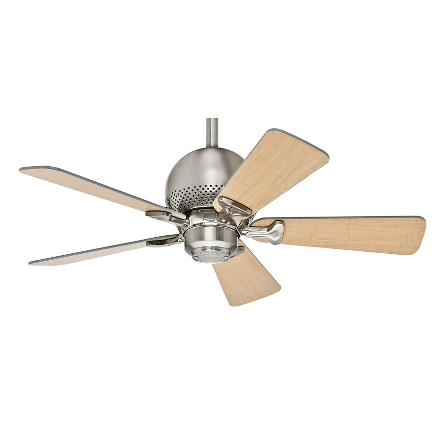 Hunter Orbit 36 In Brushed Nickel Downrod Or Close Mount Indoor Residential Ceiling Fan