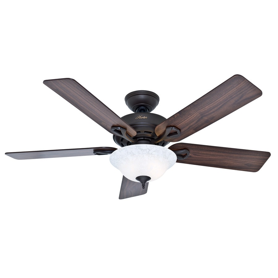 Shop Hunter The Kensington 52 In New Bronze Indoor Ceiling