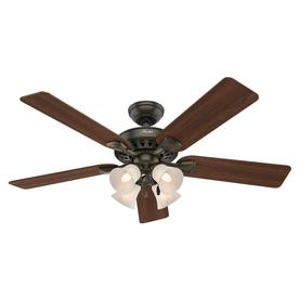Shop hunter five minute ceiling fans at lowes hunter westminster 5 minute fan 52 in indoor downrod or close mount ceiling fan with mozeypictures Images
