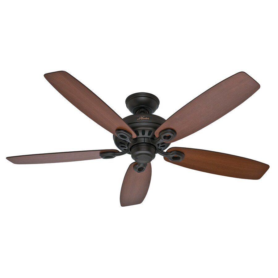 Ceiling Fans Mount: Shop Hunter Markham 52-in New Bronze Downrod Or Close