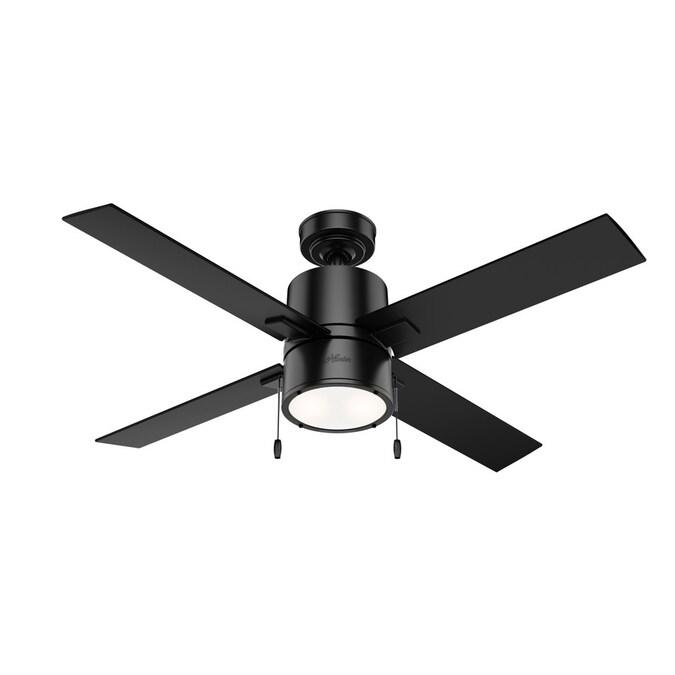 Matte Black Led Indoor Ceiling Fan
