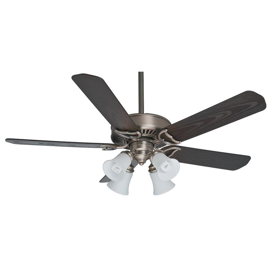 Casablanca Ceiling Fans : Shop casablanca in antique pewter indoor outdoor