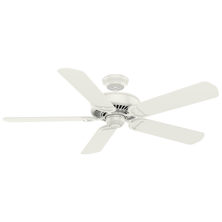 Casablanca Panama 54-in Fresh White Indoor Ceiling Fan And